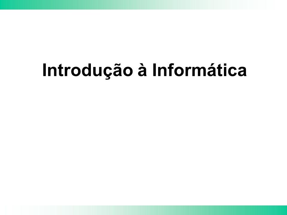IE – Introdução à Informática 2 Objetivo Apresentar conceitos gerais utilizados em informática.