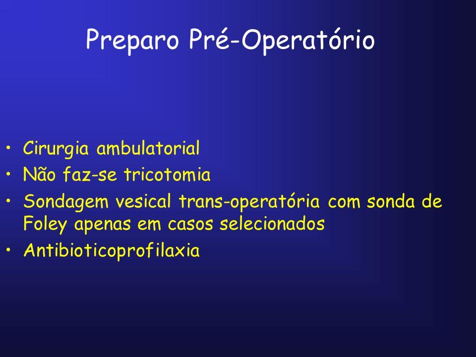 POSICIONAMENTO DOS TROCARTES Opção 2