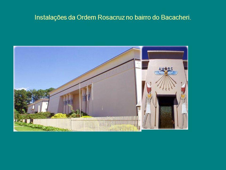 Instalações da Ordem Rosacruz no bairro do Bacacheri.