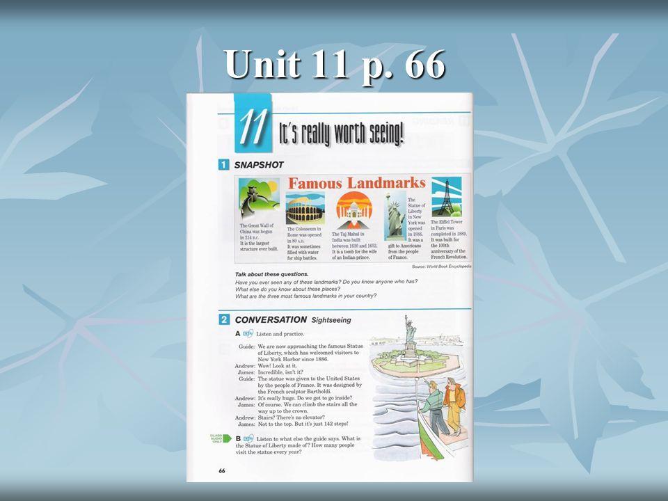 Unit 11 p. 66