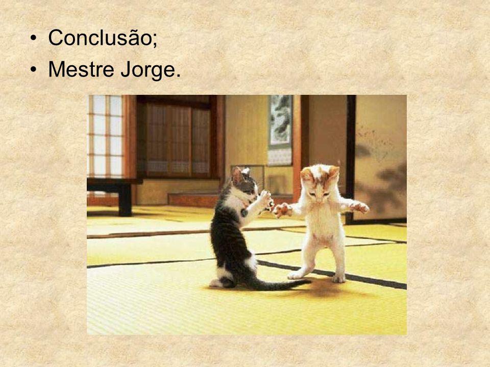 Conclusão; Mestre Jorge.