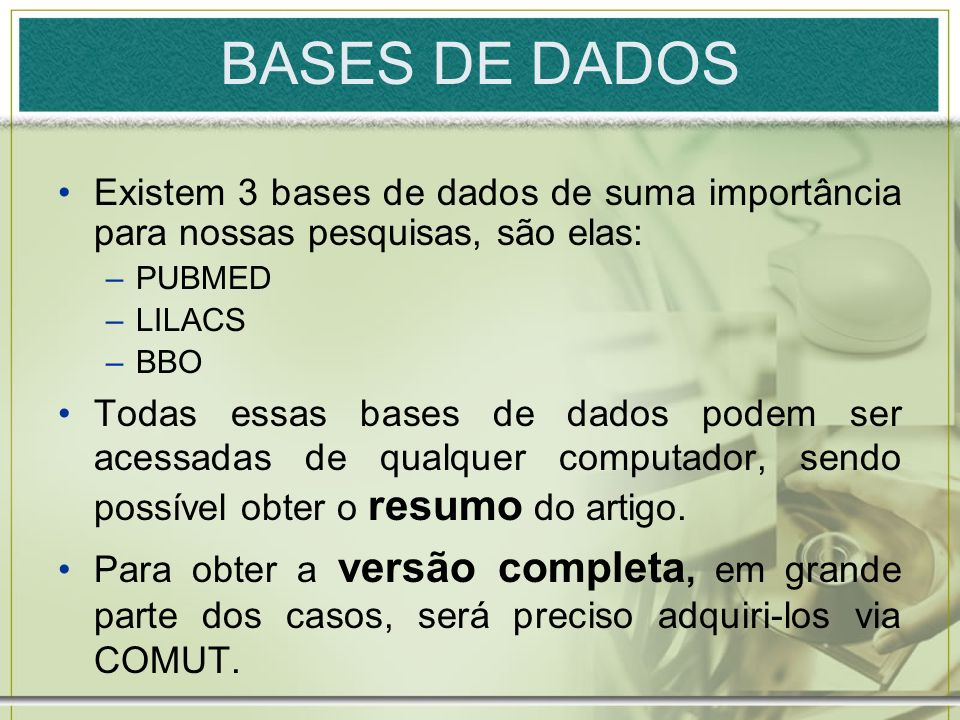 BIREME Na BIREME (http://www.bireme.br) você tem acesso a Biblioteca Virtual em Saúde (BVS).