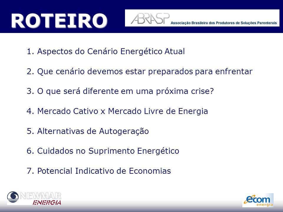 Gestão Energética Competitiva Cenários, Contratação, Mercado Livre e Redução de custos SP 09.11.05