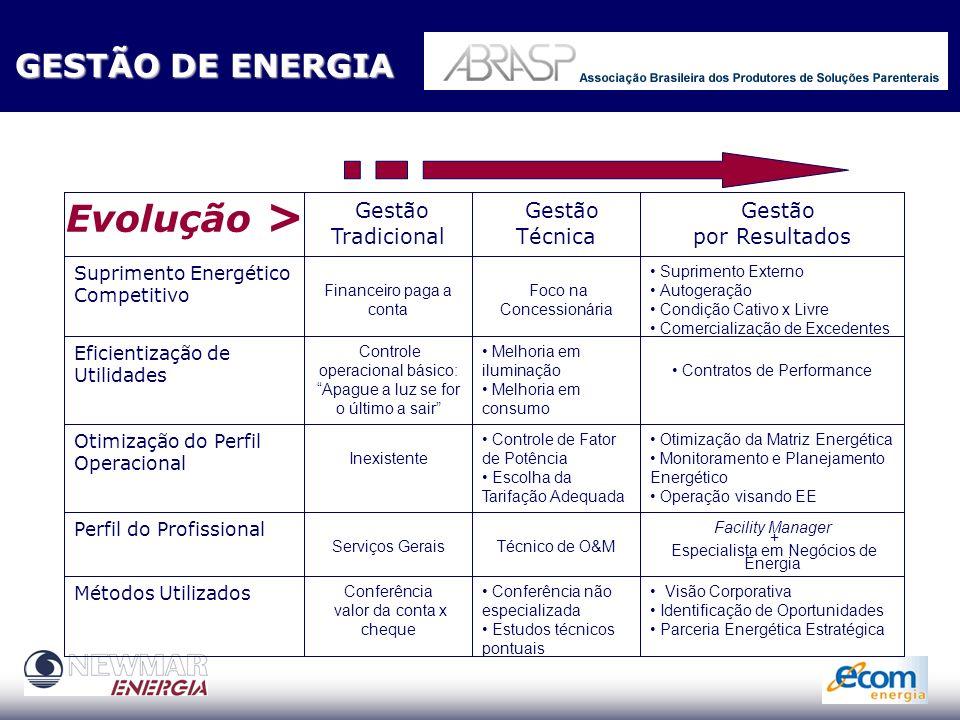 RISCO DE UMA NÃO OTIMIZAÇÃO OPERACIONAL CUIDADOSEM PROJETOS DE CUIDADOS EM PROJETOS DE SUPRIMENTO DE ENERGIA SUPRIMENTO DE ENERGIA