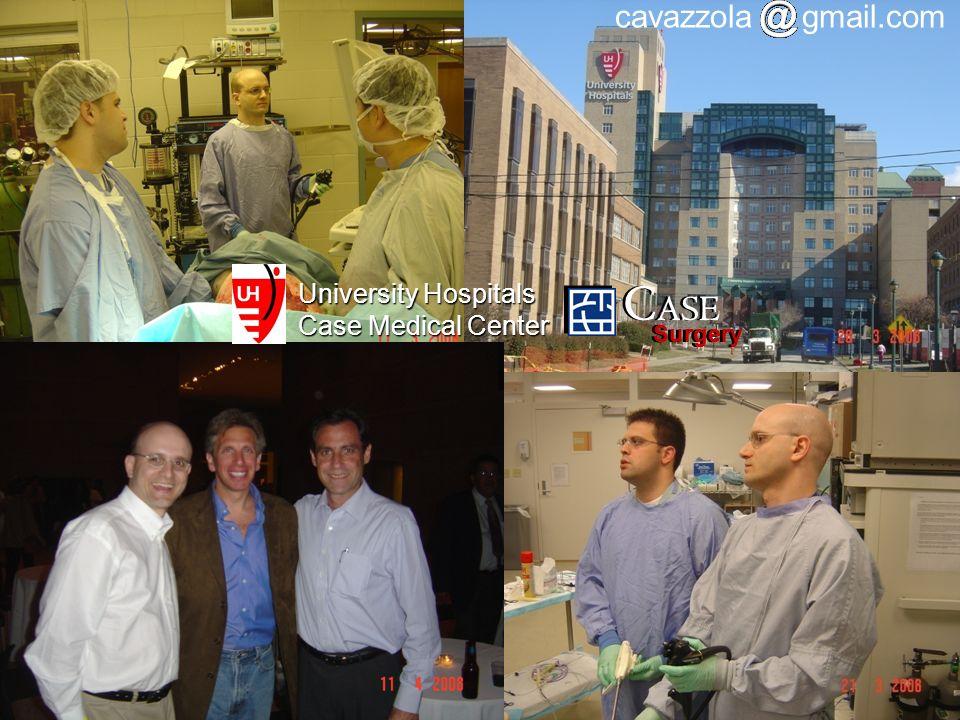 University Hospitals Case Medical Center C ASE Surgery C ASE Surgery cavazzola gmail.com