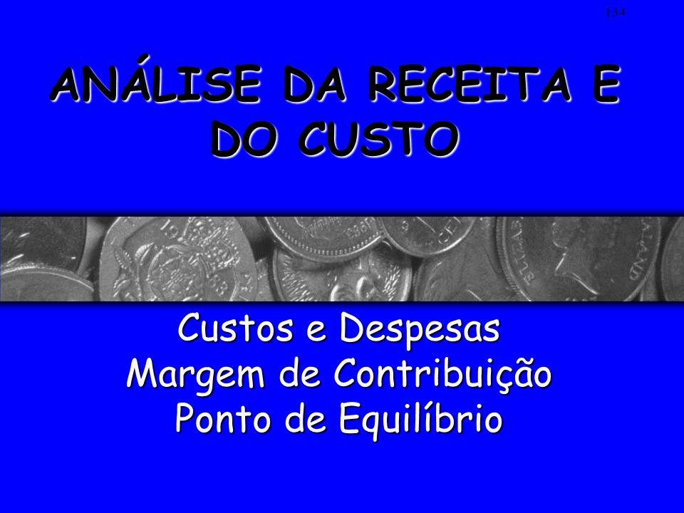133 1 – ACELERAR RECEBIMENTOS 2 – ADIAR DESEMBOLSOS PRINCÍPIOS FINANCEIROS