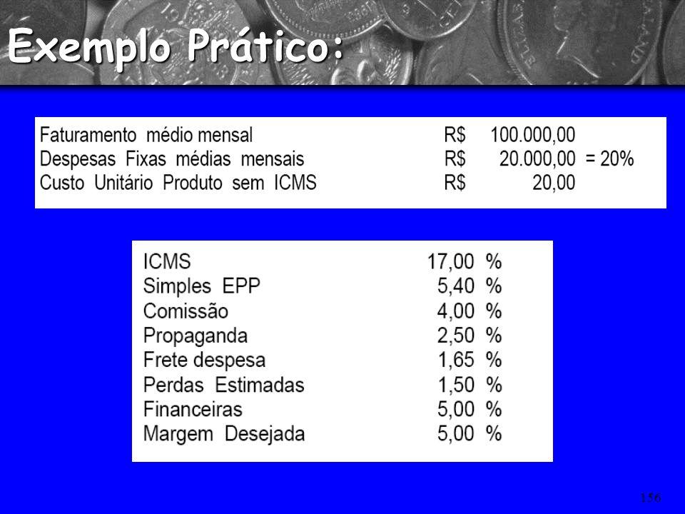 155 Formação de Preços com base no MARK-UP Fórmulas