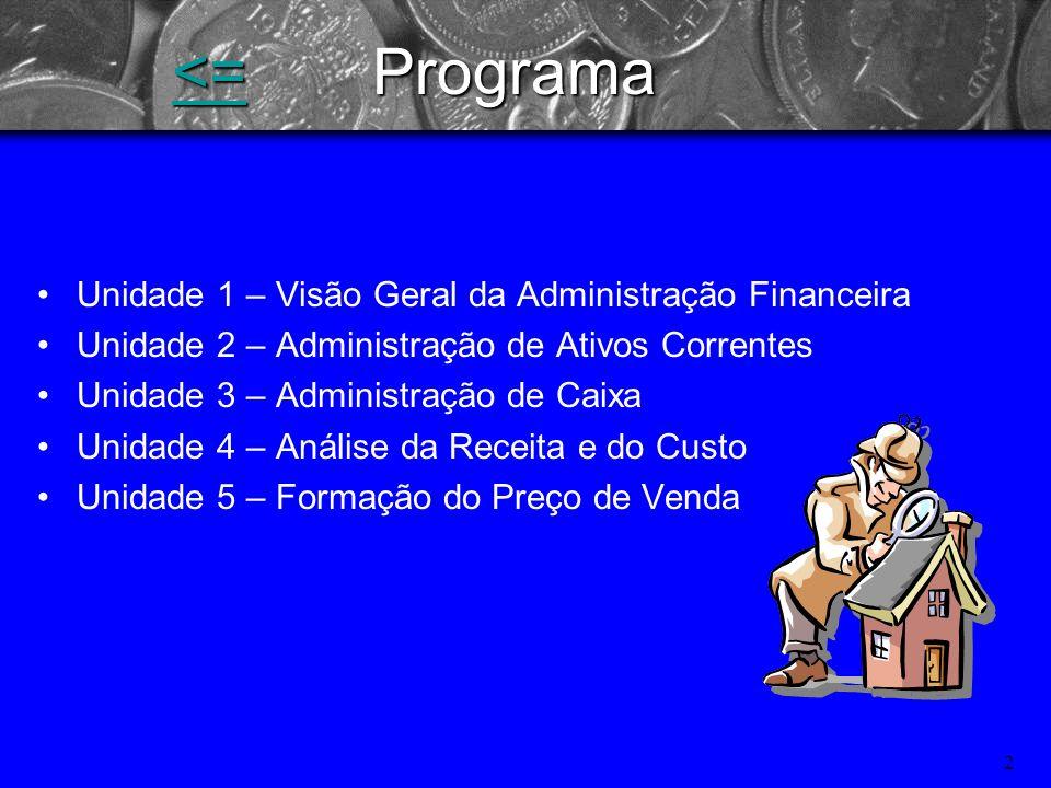 1 Gestão Financeira Especialização Administração Hospitalar