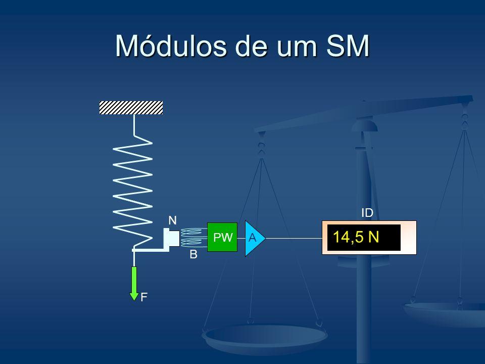 Módulos de um SM PW A F N B 14,5 N ID