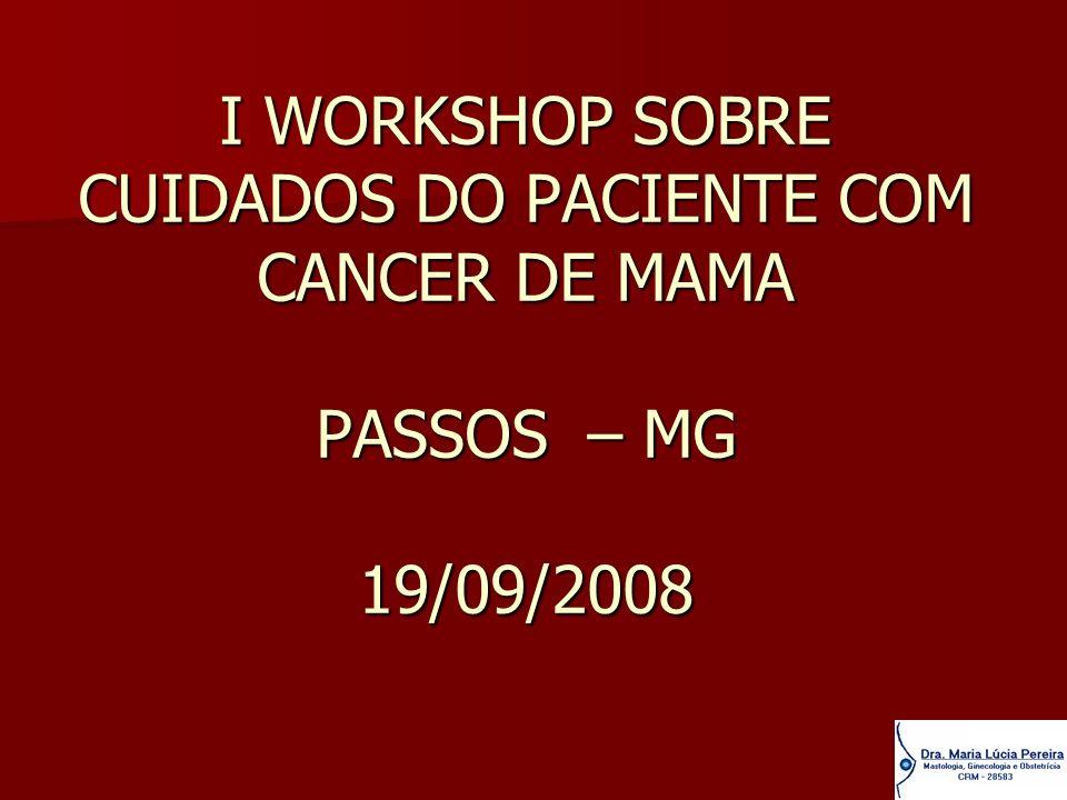 PACIENTES COM CARCINOMAS INVASIVOS OPERÁVEIS ESTADIO I ESTADIO I ESTADIO II ESTADIO II ESTADIO IIIa ESTADIO IIIa Ou seja, tumores iguais ou menores que 5 cm ( T3 ), com linfonodos axilares não adereridos ( N1) Ou seja, tumores iguais ou menores que 5 cm ( T3 ), com linfonodos axilares não adereridos ( N1)