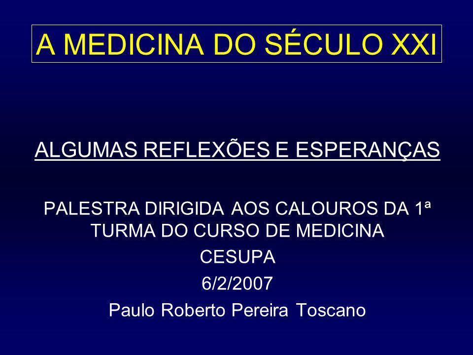 ALGUMAS LUTAS DOS MÉDICOS BRASILEIROS ATO MÉDICO: projeto de lei (25/02), em 5 artigos, que assegura ao médico a competência profissional para diagnosticar as doenças e prescrever o tratamento CLASSIFICAÇÃO BRASILEIRA HIERARQUIZADA DE PROCEDIMENTOS MÉDICOS (CBHPM): padrão mínimo e ético de remuneração para a classe médica ATUALIZAÇÃO PROFISSIONAL: médicos com título de especialista emitido a partir de 2006 terão de obter o certificado de atualização após 5 anos (sistema de créditos) PRINCIPAIS ENTIDADES MÉDICAS: ASSOCIAÇÃO MÉDICA BRASILEIRA (AMB), CONSELHO FEDERAL DE MEDICINA (CFM), SMCP, CRM-PA, SINDICATO DOS MÉDICOS