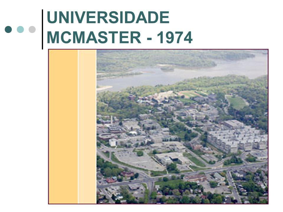UNIVERSIDADE MCMASTER - 1974