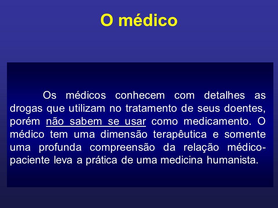 O médico Exame clínico ainda é a parte mais importante do exercício profissional apesar de todo o tecnicismo.