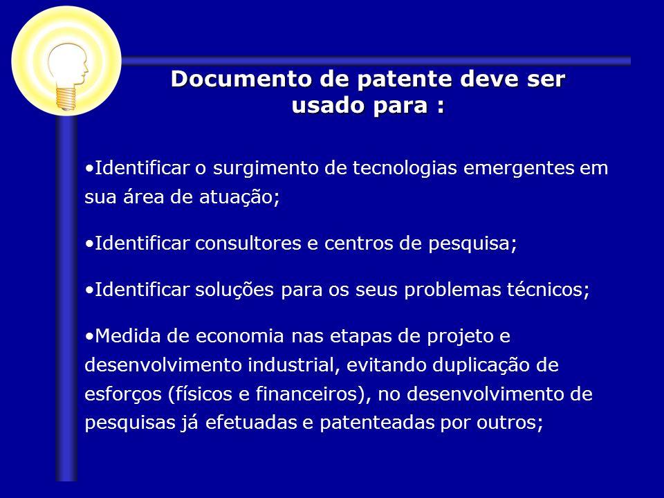 Identificar o surgimento de tecnologias emergentes em sua área de atuação; Identificar consultores e centros de pesquisa; Identificar soluções para os
