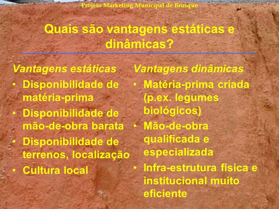 Projeto Marketing Municipal de Brusque Como criar uma vantagem competitiva.