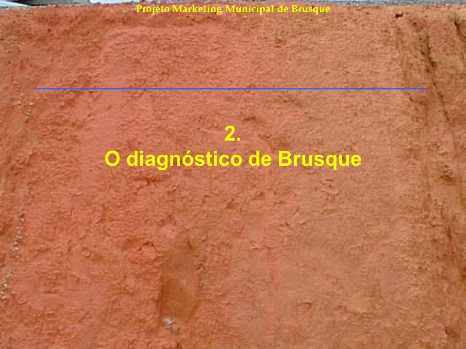 Projeto Marketing Municipal de Brusque Conclusões do diagnóstico A economia anda bem e superou crises.