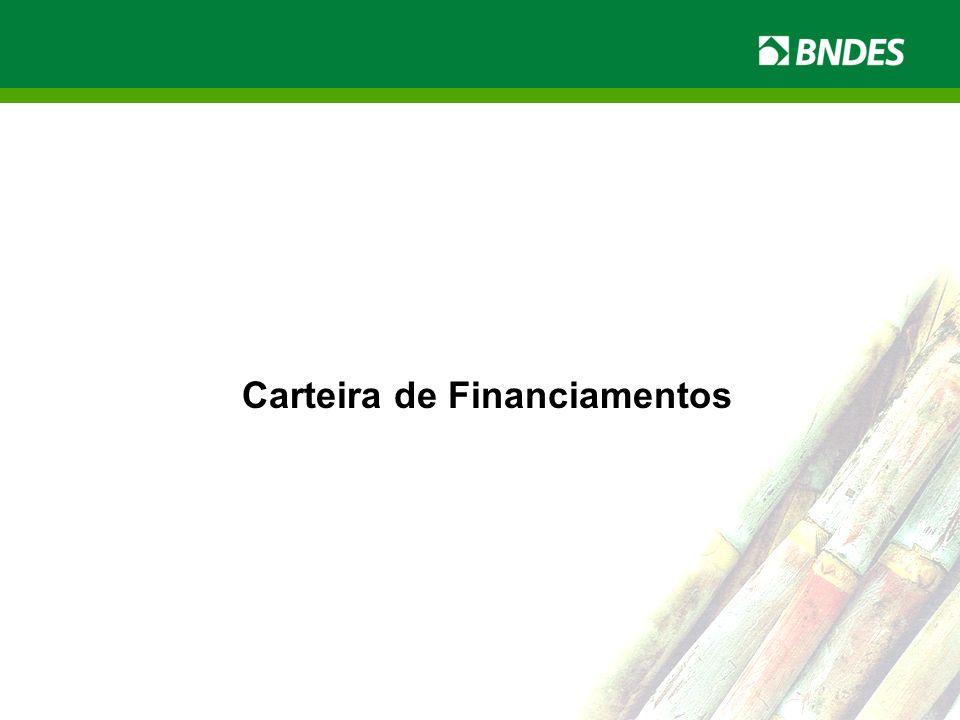 LIVRO VERDE DO ETANOL 10 LIVRO VERDE DO ETANOL Carteira de Financiamentos
