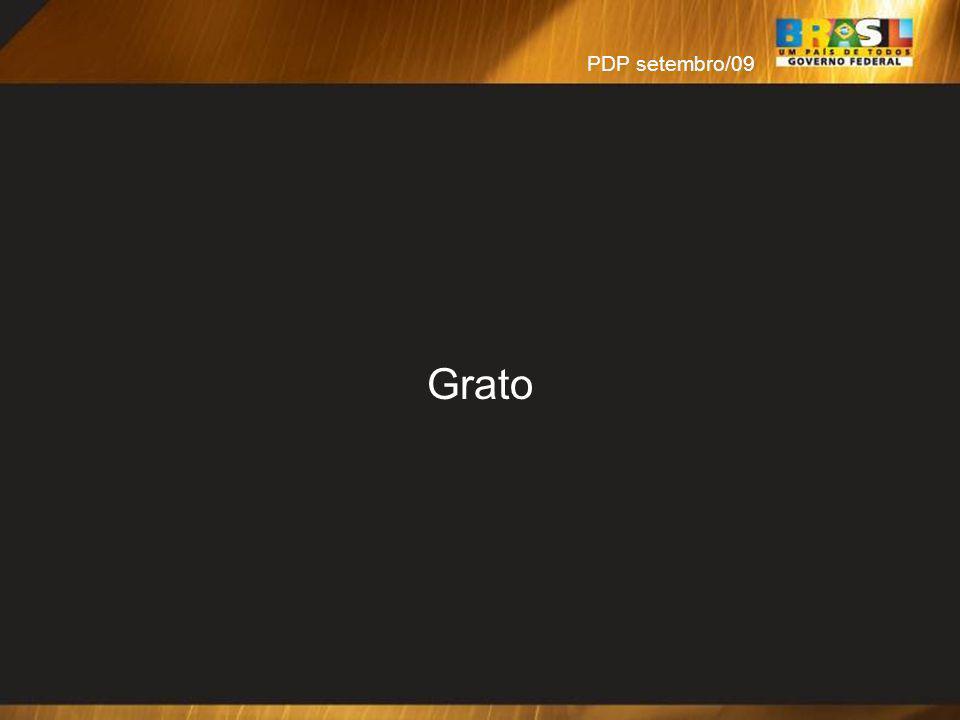 PDP setembro/09 Grato