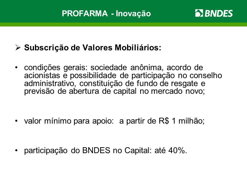 Subscrição de Valores Mobiliários: condições gerais: sociedade anônima, acordo de acionistas e possibilidade de participação no conselho administrativ