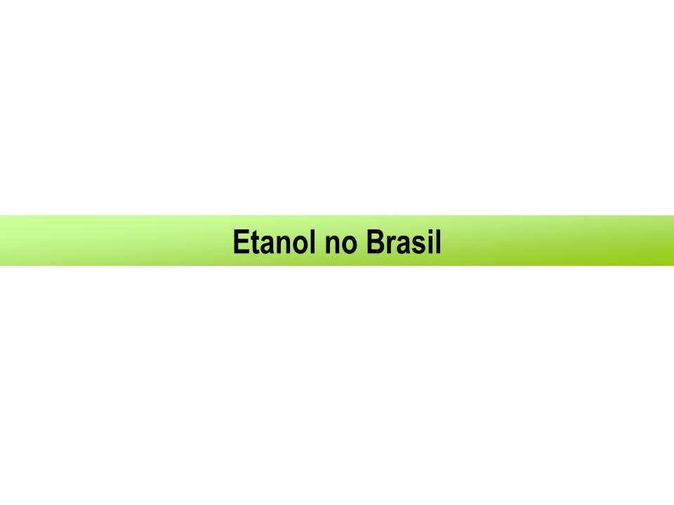 A Experiência Brasileira 1925: Primeiros testes com etanol na gasolina 1979: Inicio das vendas de carro 100% a álcool