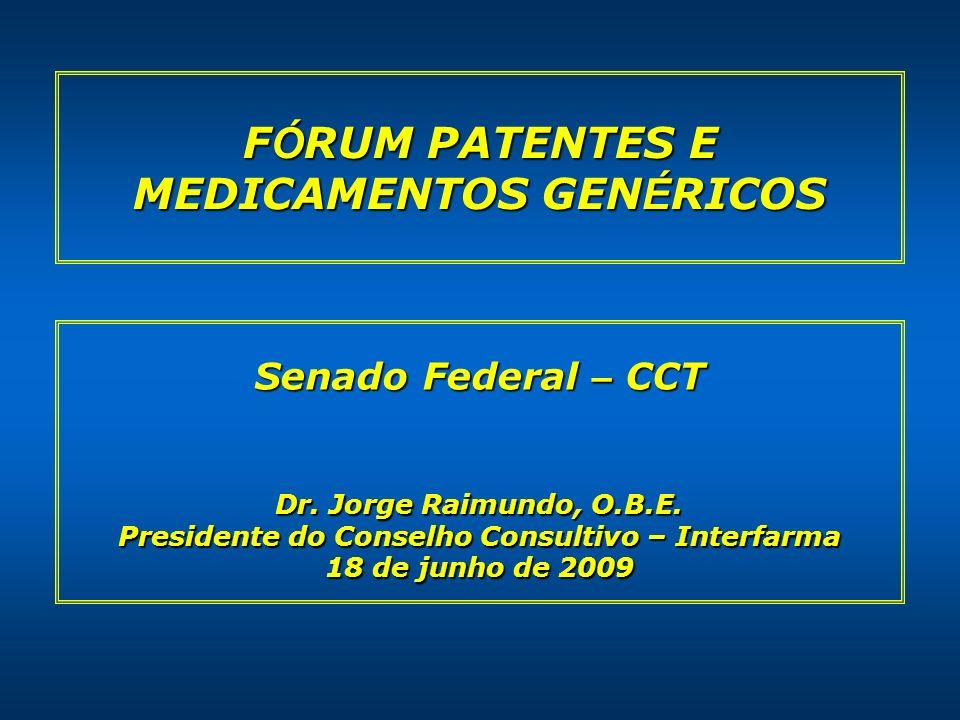 22 Crescentes investimentos em P&D Pelas universidades brasileiras, pós lei de patentes 68% dos pedidos de patentes no período de 1990-2006 foram registrados em uma ou mais áreas relacionadas a saúde, fármacos ou alimentação* 68% dos pedidos de patentes no período de 1990-2006 foram registrados em uma ou mais áreas relacionadas a saúde, fármacos ou alimentação* Unicamp UFMG, UNICAMP e USP Universidade brasileira com maior número de patentes depositadas, com mais de 400 patentes Universidade brasileira com maior número de patentes depositadas, com mais de 400 patentes Fitoterápico para menopausa patenteado e lançado no mercado brasileiro em parceria com a Steviafarma Fitoterápico para menopausa patenteado e lançado no mercado brasileiro em parceria com a Steviafarma USP Criação em 2003 da Agência USP de Inovação para dar assistência técnica de PI a comunidade interna Criação em 2003 da Agência USP de Inovação para dar assistência técnica de PI a comunidade interna * Prospectiva Consultoria