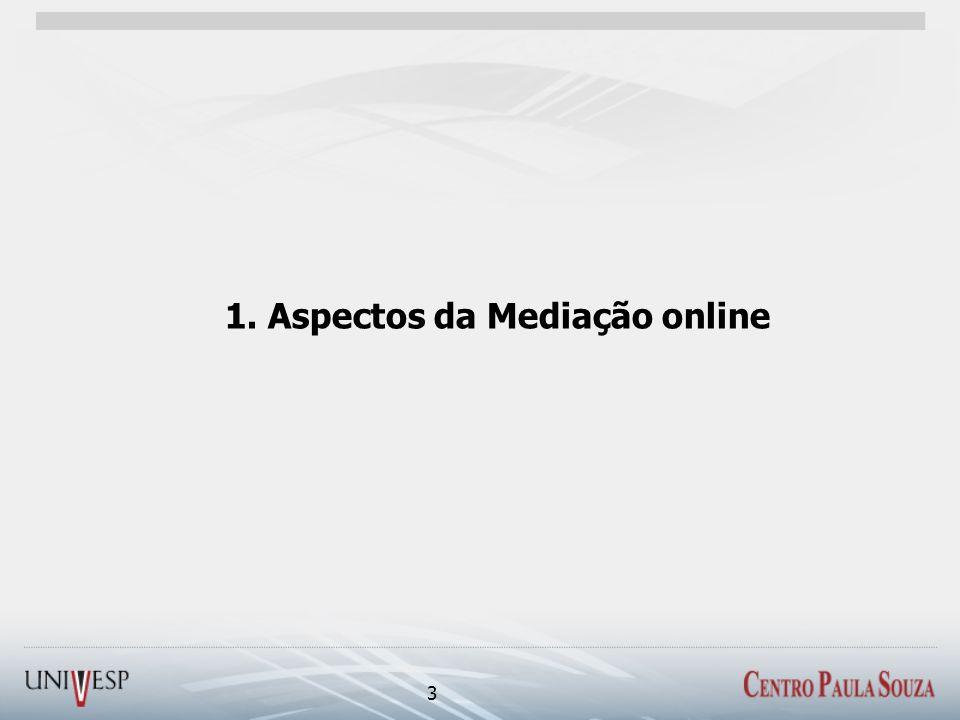 1. Aspectos da Mediação online 3
