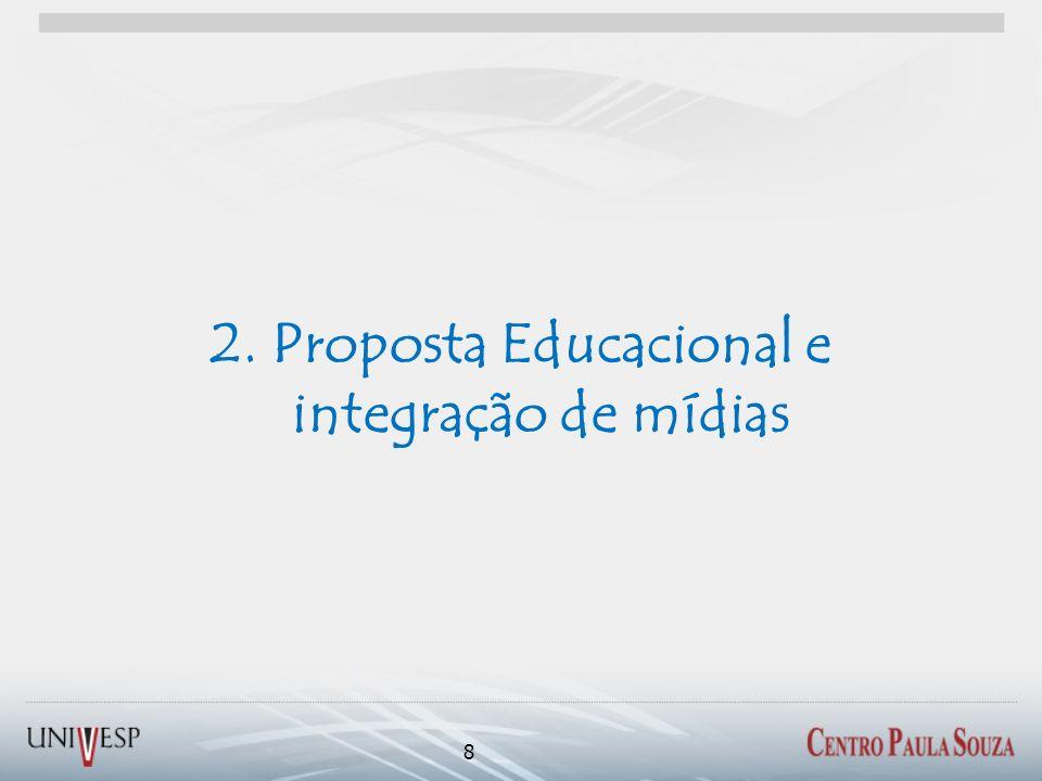 2. Proposta Educacional e integração de mídias 8