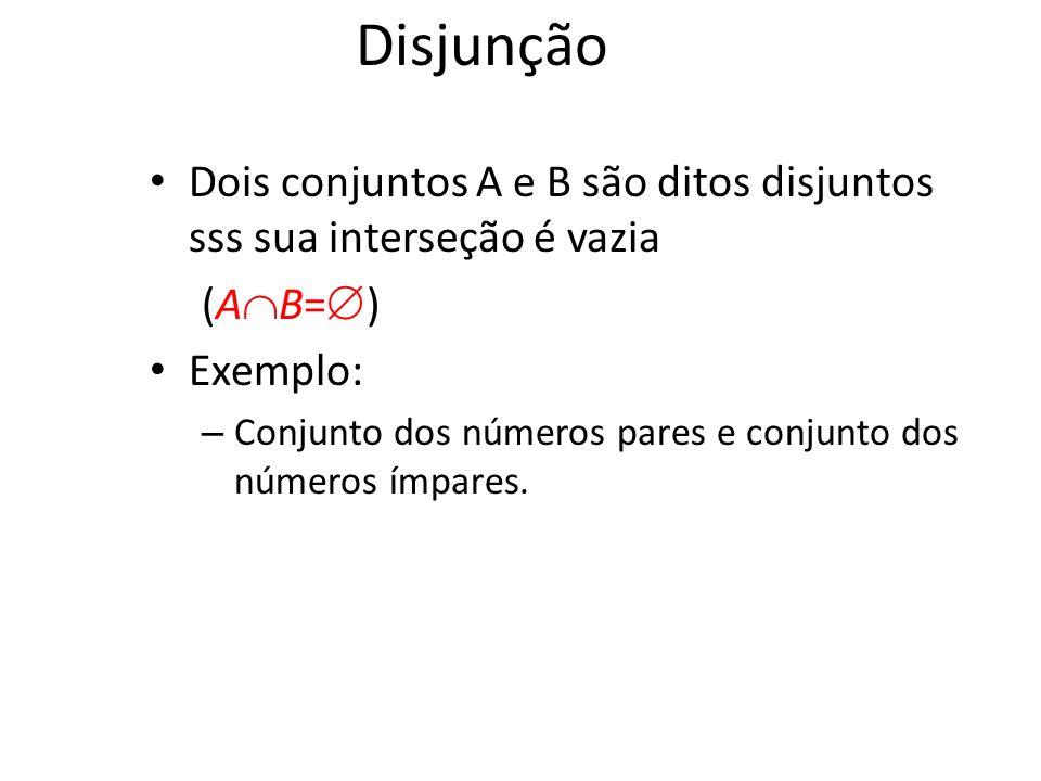 {a,b,c} {2,3} = ___ {2,4,6} {3,4,5} = ______ Interseção - Exemplo