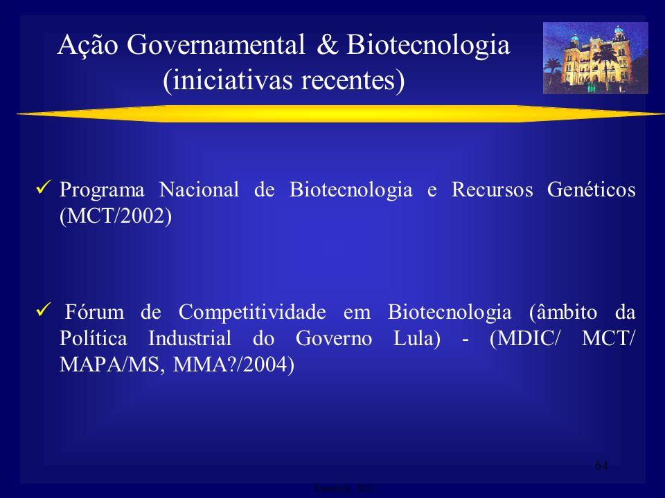 63 Constitucionalpatrimônio nacional brasileiro/Bens de natureza imaterial CDB respeitar, preservar e manter o conhecimento, inovações e práticas MP n