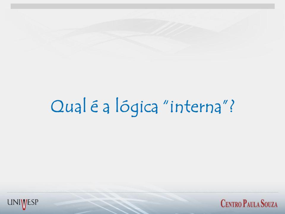 Qual é a lógica interna?