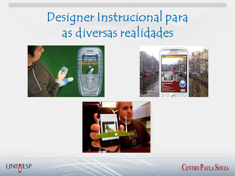Designer Instrucional para as diversas realidades