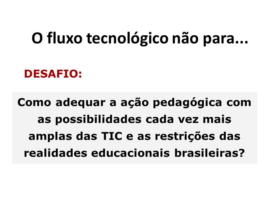 O fluxo tecnológico não para...