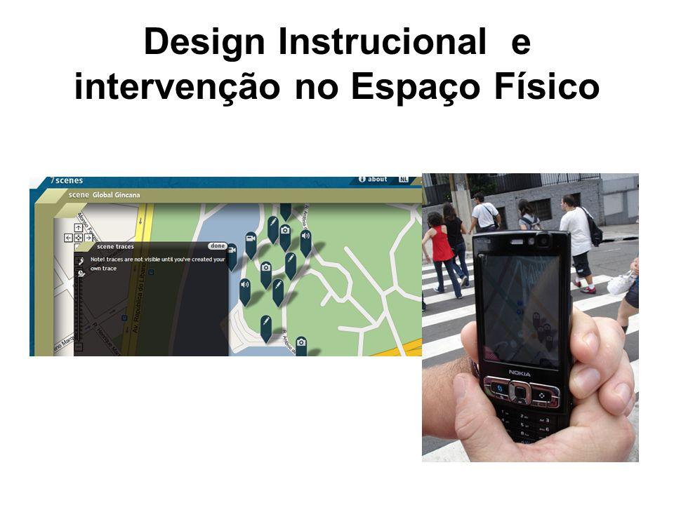 Design Instrucional e intervenção no Espaço Físico