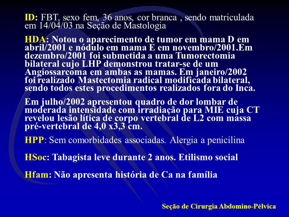TC Tórax (19/11/05) : Normal