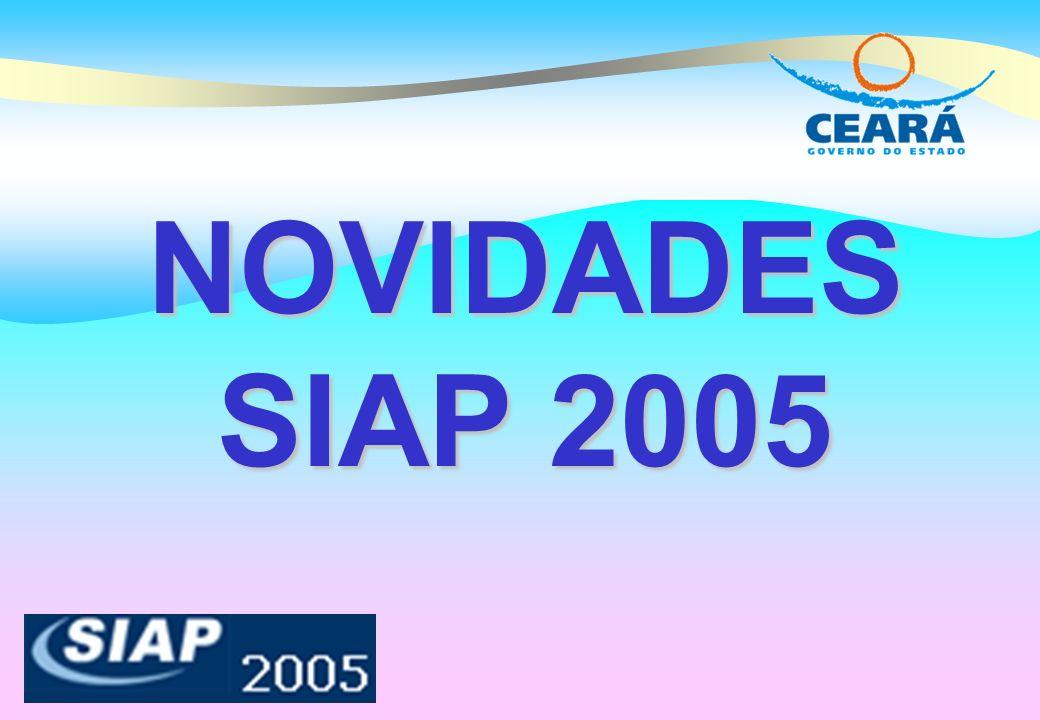 NOVIDADES SIAP 2005