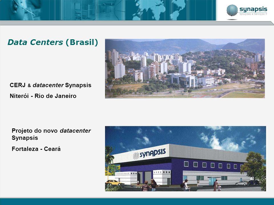 CERJ & datacenter Synapsis Niterói - Rio de Janeiro Projeto do novo datacenter Synapsis Fortaleza - Ceará Data Centers (Brasil)