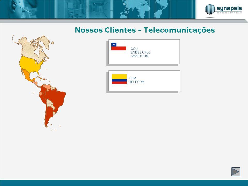 CCU ENDESA PLC SMARTCOM Nossos Clientes - Telecomunicações EPM TELECOM