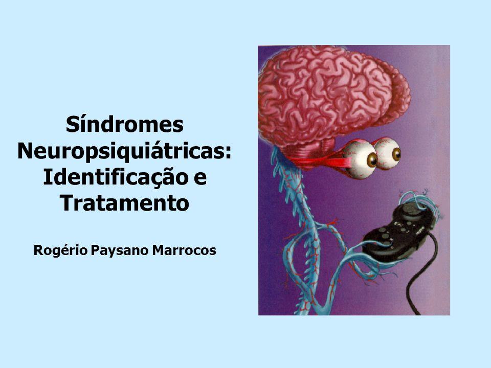 síndromes delirium psicose catatonia abstinência ansiedade depressão