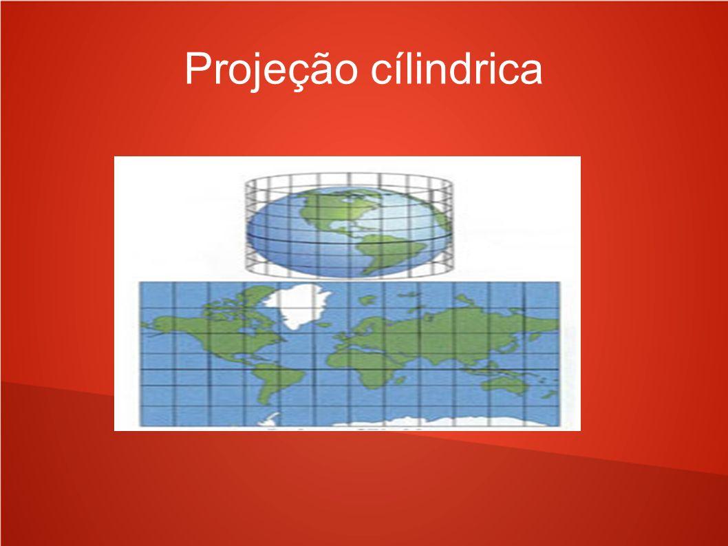 Projeção cílindrica