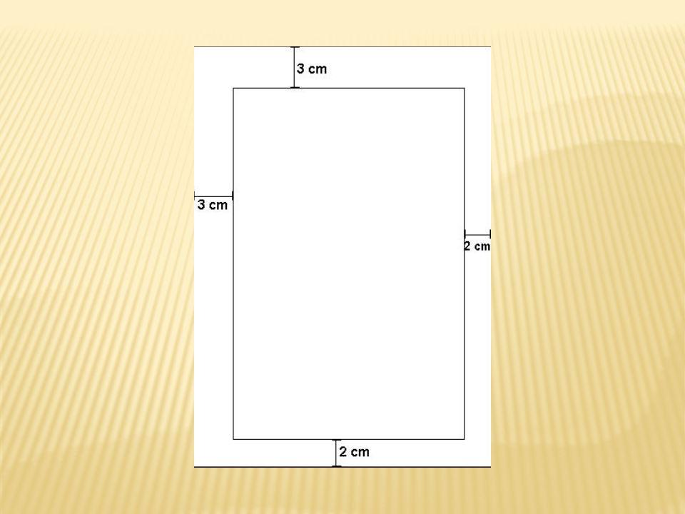 Espaçamento entre linhas: 1,5 cm.