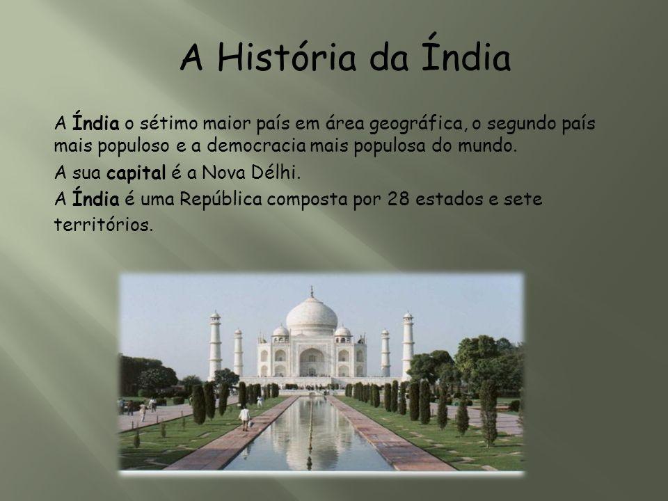 A Índia o sétimo maior país em área geográfica, o segundo país mais populoso e a democracia mais populosa do mundo. A sua capital é a Nova Délhi. A Ín