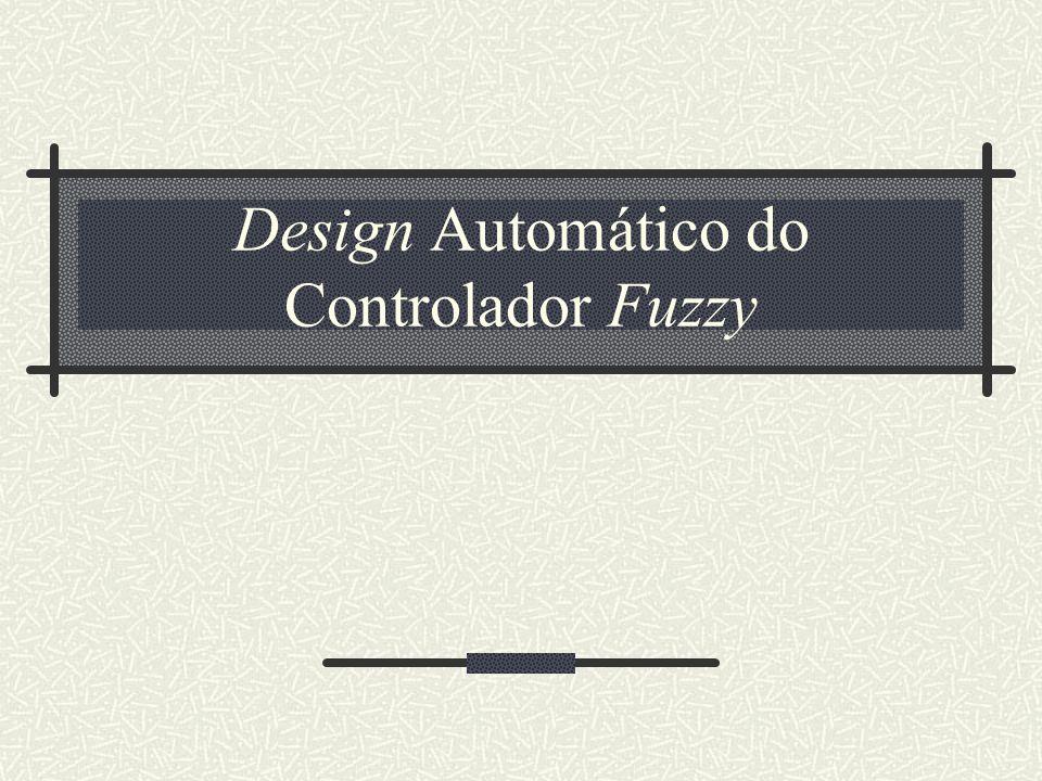 Design Automático do Controlador Fuzzy