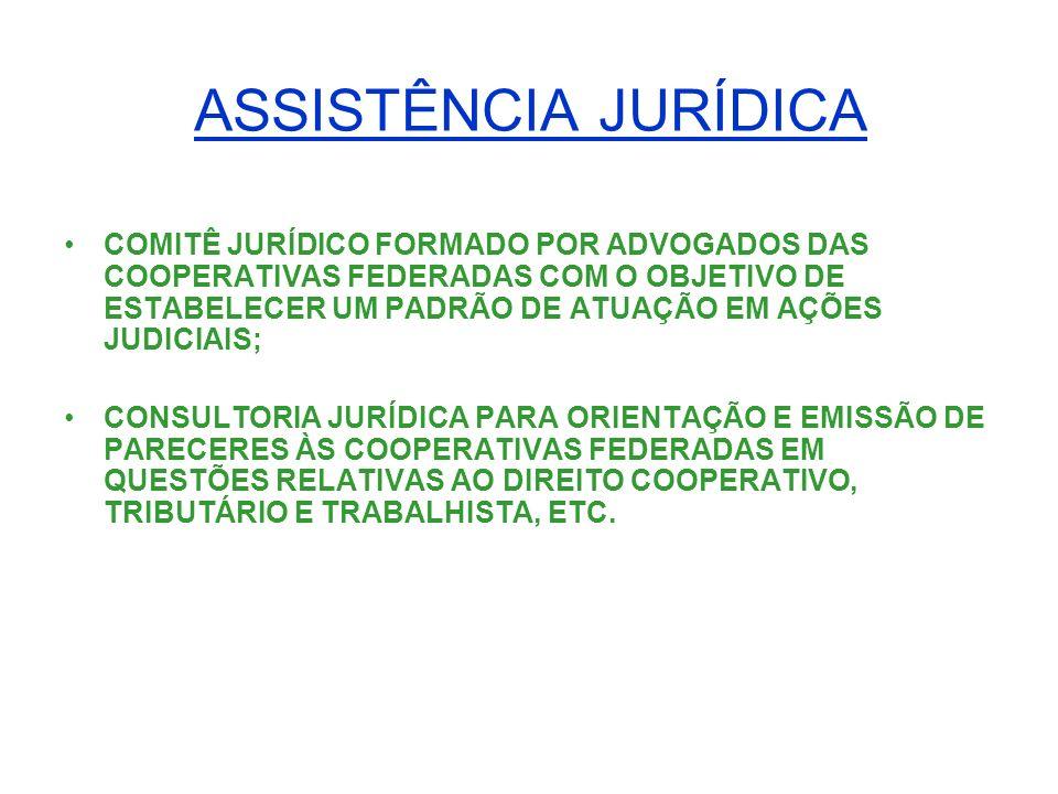 ASSISTÊNCIA CONTÁBIL APOIO AO DESENVOLVIMENTO DA COOPERATIVA FEDERADA, COOPERCONTÁBIL – COOPERATIVA DOS CONTADORES, COM VISTAS A AMPLIAÇÃO DE SUA ATUAÇÃO JUNTO ÀS COOPERATIVAS FEDERADAS VISANDO UMA PADRONIZAÇÃO E UNIFORMIZAÇÃO DE PROCEDIMENTOS CONTÁBEIS NAS MESMAS.