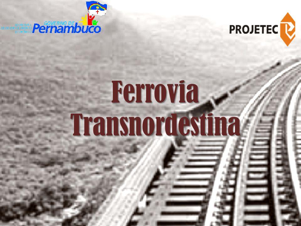 Trata-se de uma ferrovia importante não apenas para Pernambuco, mas, igualmente, para os nove Estados do Nordeste, interligando os pólos de produção agrícola, mineral e industrial da região.