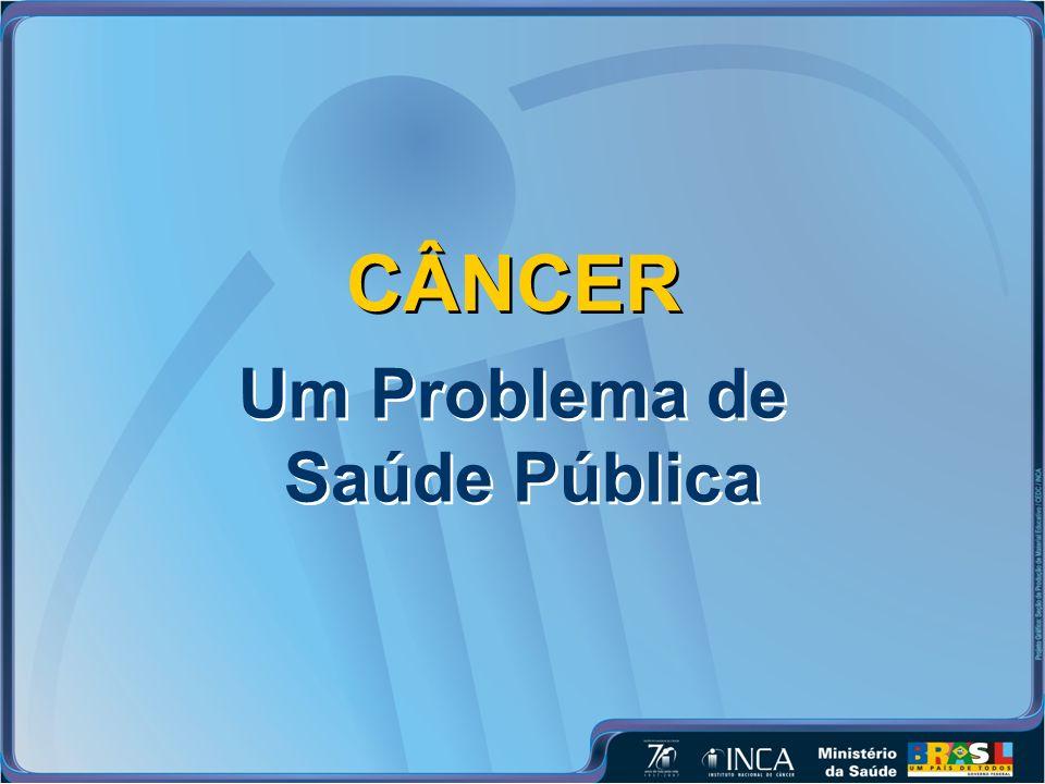 CÂNCER Um Problema de Saúde Pública