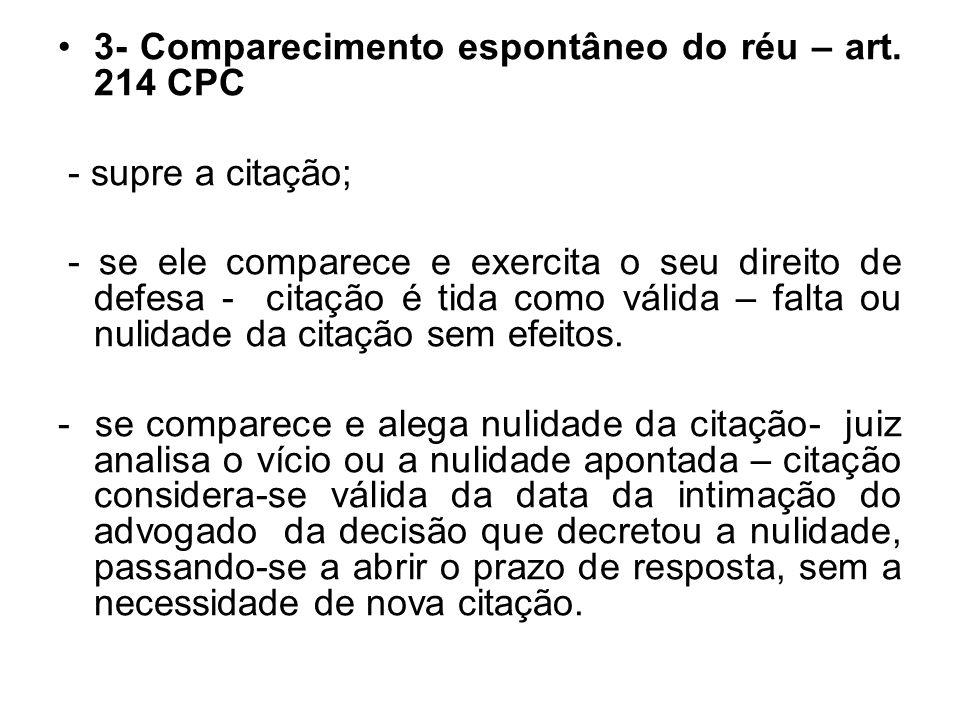 1.3 POR MEIO ELETRÔNICO: LEI 11.419/2006 - prevê as citações, inclusive da Fazenda Pública, excetuados os criminais.