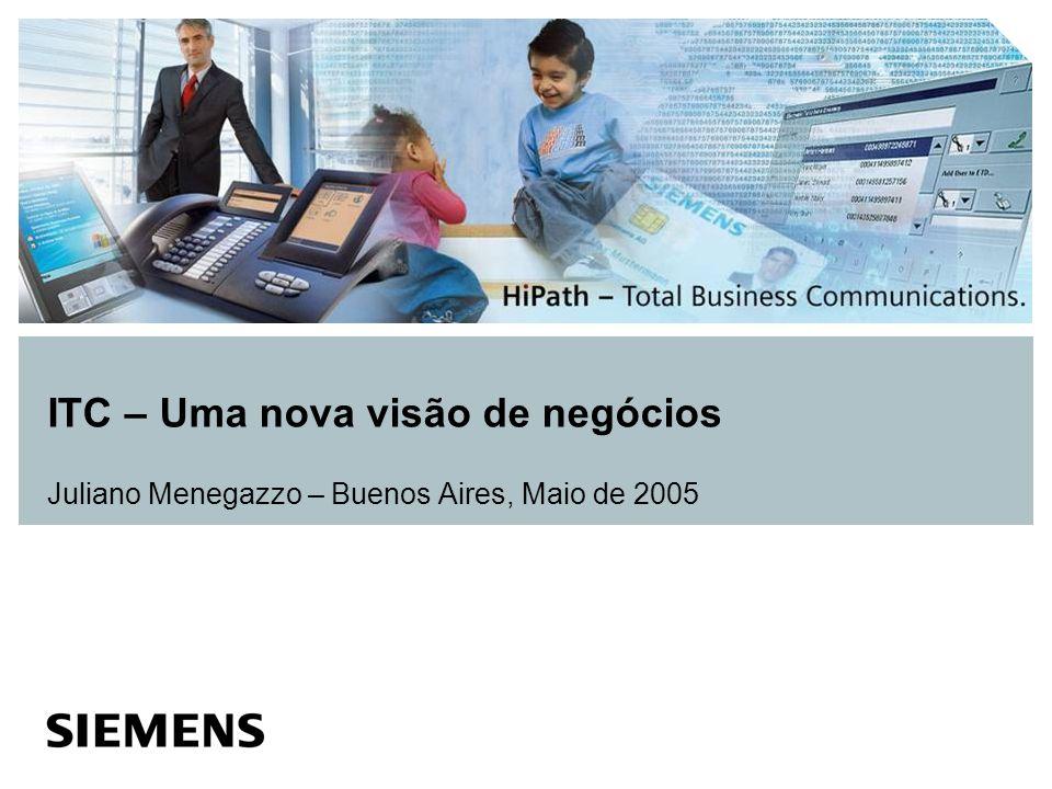 Agenda Lifeworks Domínio Unificado Experiência única do Usuário HiPath Real-Time IP System Plataforma Convergente de Comunicacão Workpoints Segurança em Redes Convergentes