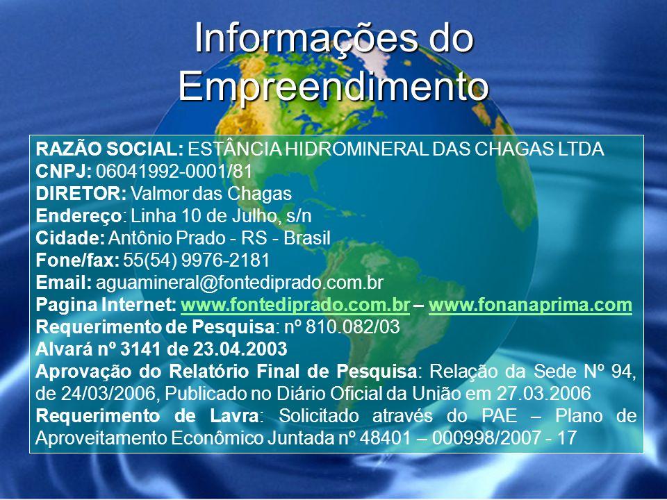 Localização do Empreendimento no Brasil (Rio Grande do Sul)