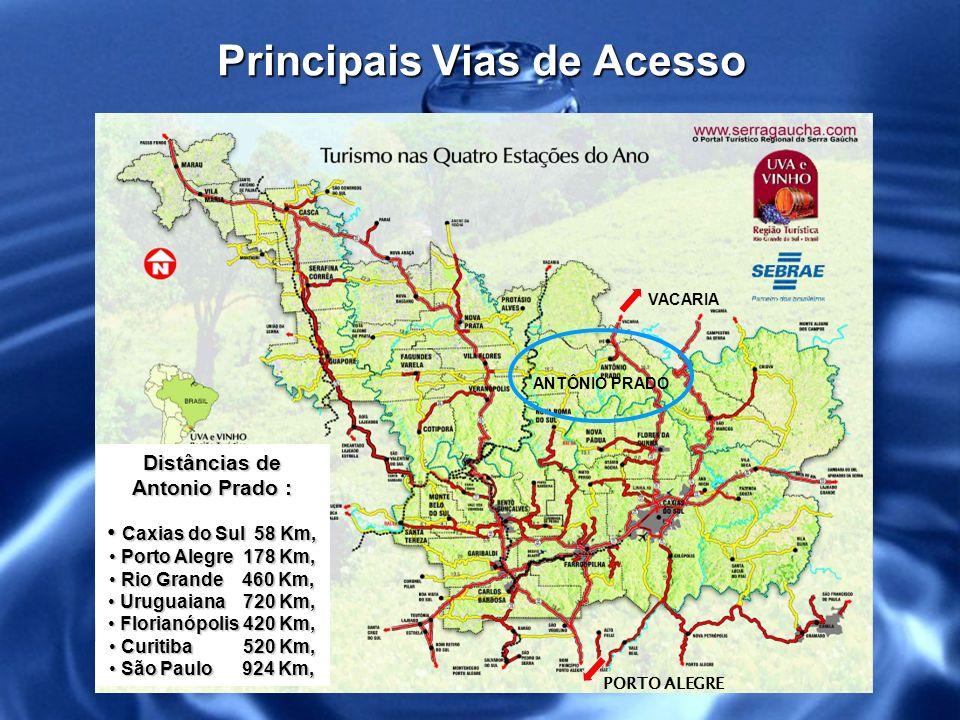 Vista Aérea da Cidade População: 14 mil habitantes Antônio Prado
