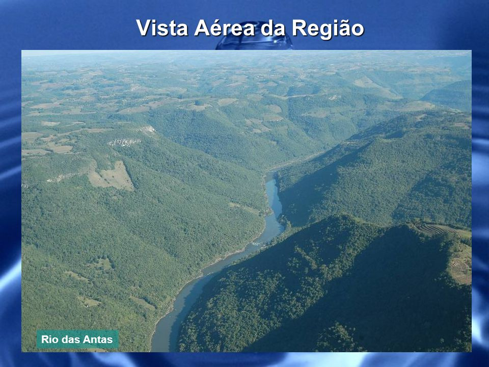Vista Aérea da Região do Empreendimento Localização dos poços Floresta Nativa Preservada Local onde será realizado o empreendimento